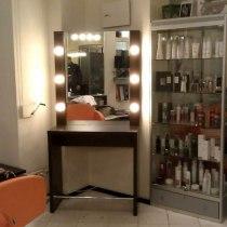 Парикмахерское рабочее место с подсветкой Милан | Venko