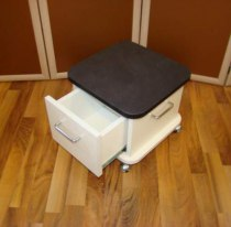 Подставка для педикюрной ванночки на колесах | Venko - Фото 38332