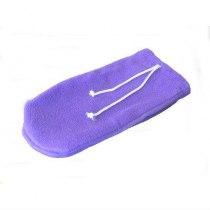 Варежки махра-флис (пара) фиолетовый | Venko