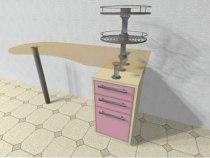 Маникюрный стол Кристалл | Venko - Фото 38763