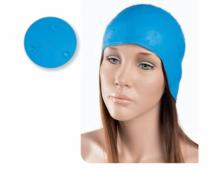 Шапочка для мелірування Eurostil гумова синя | Venko