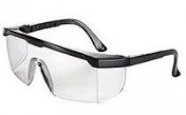 Очки защитные Univet 511 незапотевающие, черная оправа, регулировка дужек | Venko