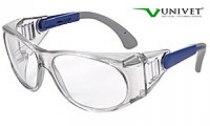 Очки защитные Univet 539 незапотевающие, покрытие от царапин, совместное ношение с оптическими очками | Venko