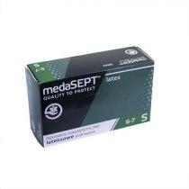 Латексные перчатки опудренные Latex XL medaSEPT, 100 шт - Фото 41464
