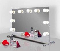 Визажное зеркало J-Mirror Hollywood T с лампами накаливания, 650 х 450 мм - Фото 41594