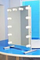 Визажное зеркало J-Mirror Hollywood T с лампами накаливания, 800 х 600 мм - Фото 41609