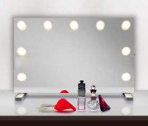 Визажное зеркало J-Mirror Hollywood T с лампами накаливания, 700 х 600 мм | Venko