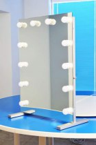 Визажное зеркало J-Mirror Hollywood T с лампами накаливания, 700 х 1000 мм - Фото 41621