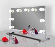 Визажное зеркало J-Mirror Hollywood T с лампами накаливания, 700 х 1000 мм | Venko