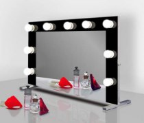 Визажное зеркало J-Mirror Hollywood T Color с лампами накаливания, 650 х 450 мм | Venko