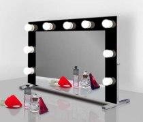 Визажное зеркало J-Mirror Hollywood T Color с лампами накаливания, 800 х 600 мм | Venko