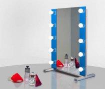 Визажное зеркало J-Mirror Hollywood T2 Color с LED лампами , 700 х 600 мм - Фото 41722
