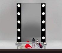 Визажное зеркало J-Mirror Hollywood T2 Color с лампами накаливания, 800 х 600 мм | Venko - Фото 41748