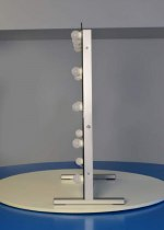 Визажное зеркало J-Mirror Hollywood T2 Color с лампами накаливания, 800 х 600 мм | Venko - Фото 41750