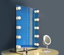 Визажное зеркало J-Mirror Hollywood T2 с лампами накаливания, 800 х 600 мм | Venko - Фото 41814