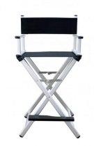 Професійний стілець для макіяжу PS-CH01L (срібло) | Venko