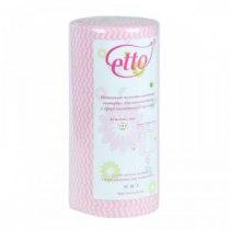 Салфетки спанлейс розоваяволна,60 г/м2, 25 х 30 см, 100 шт | Venko