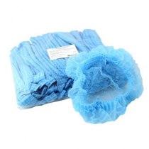 Шапочкигармошка спанбонд голубые,100 шт | Venko