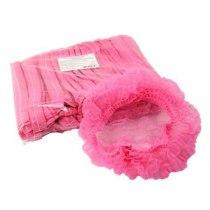 Шапочкигармошка спанбонд розовые,100 шт | Venko