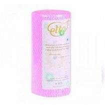 Салфетки спанлейс розоваяволна,60 г/м2, 30 х 50 см, 100 шт | Venko