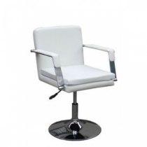 Парикмахерское кресло HC11016 белое | Venko