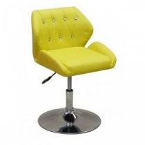 Кресло косметическое HC949N желтое | Venko