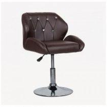 Кресло косметическое HC949N коричневый | Venko