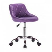 Косметическое кресло HC1054K фиолетовое | Venko