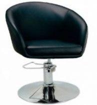 Кресло парикмахерское Мурат P (черный цвет) | Venko