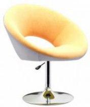 Кресло парикмахерское Беллино (бело-бежевый) | Venko