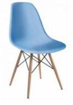 Стул для клиента Тауэр Вуд (цвет голубой) | Venko