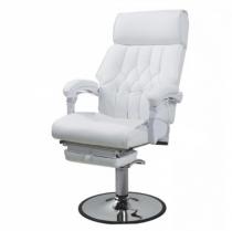Гидравлическое педикюрное кресло с подножкой 991, черное | Venko