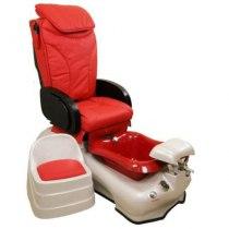 Педикюрное SPA-кресло S918В (красный) | Venko