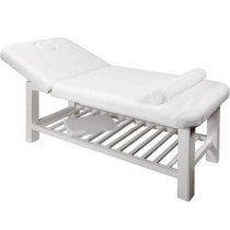 Массажный стол стационарный S877 (белый) | Venko
