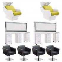 Рабочее место парикмахера Vibro - комплект мебели | Venko