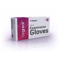 Перчатки нитриловые неопудренные XS, 100 шт/уп premium | Venko