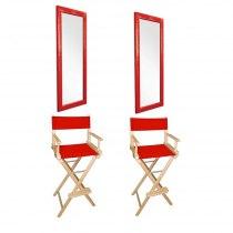 Рабочее место визажиста Red - комплект мебели | Venko