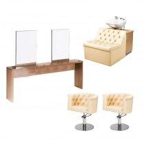 Рабочее место парикмахера Mali Duos - комплект мебели | Venko