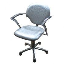 Парикмахерское кресло 338 Серебро | Venko