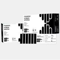 Перчатки нитриловые не опудренные черные L, 100 шт/уп imt | Venko
