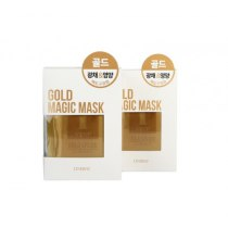 Маска для лица с 24-каратным золотом пластифицирующая, омолаживающая, 5*80 г | Venko