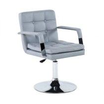 Парикмахерское кресло HC730 серое | Venko