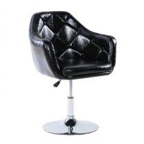 Парикмахерское кресло HC830B черное | Venko