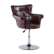 Парикмахерское кресло HC804B коричневое | Venko