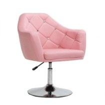 Парикмахерское кресло HC830 розовое | Venko
