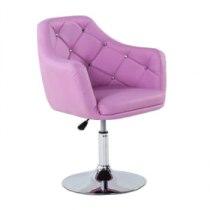 Парикмахерское кресло HC830 лавандовое | Venko