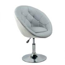 Парикмахерское кресло HC-8516 серо-белое | Venko