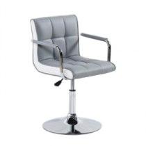 Кресло косметическое HC-811N серое | Venko