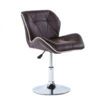 Кресло косметическое HC1062N коричневое | Venko