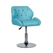 Кресло косметическое HC949N бирюзовое | Venko
